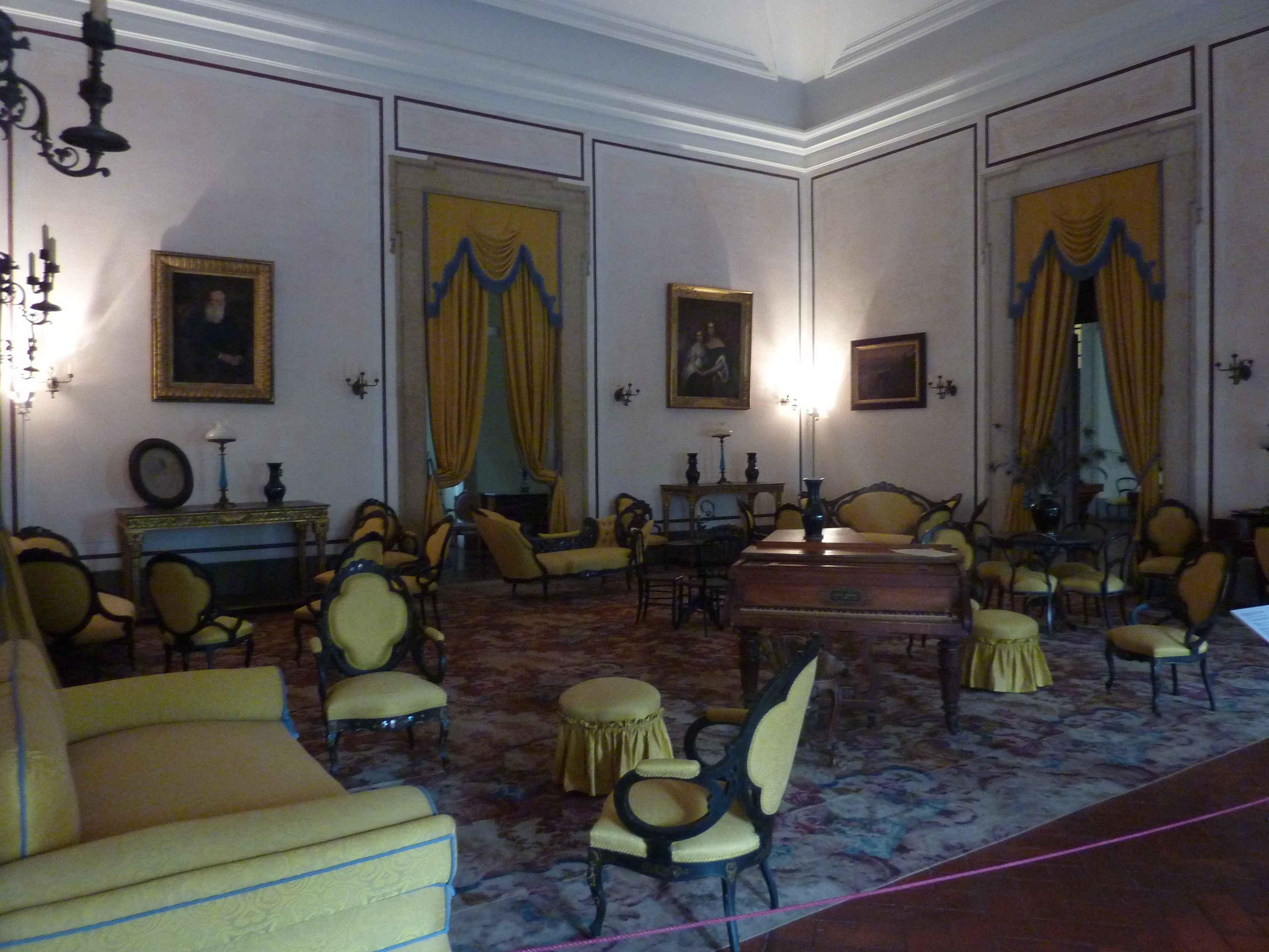 Visite du palais royal de mafra au nord de lisbonne - Salon de the palais royal ...