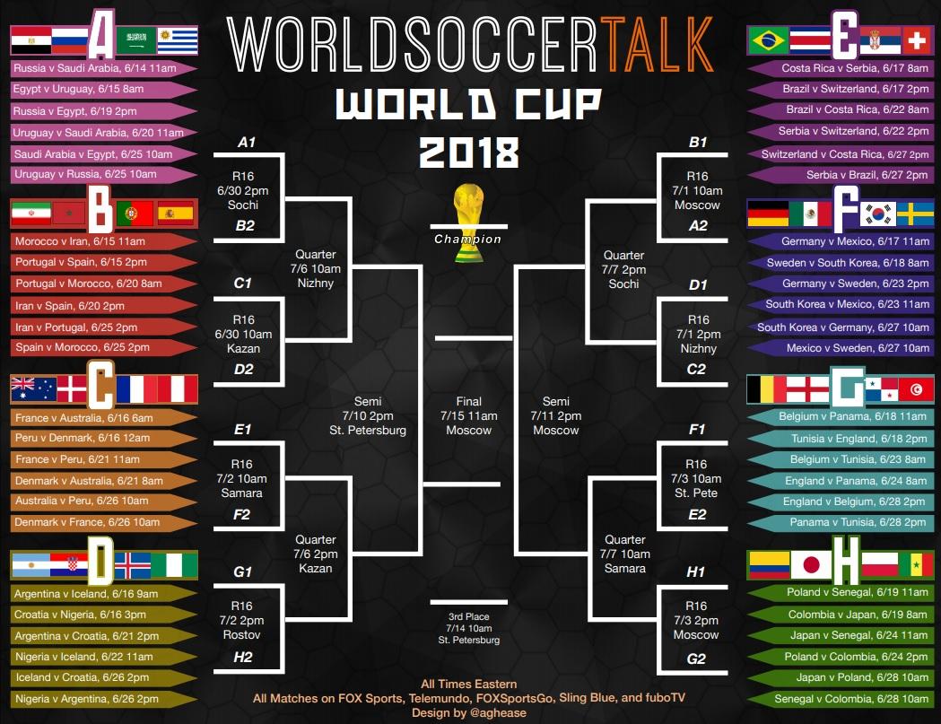 calendrier coupe du monde 2018 pdf